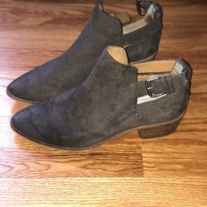 Dolce Vita Brown Booties -- look better in person